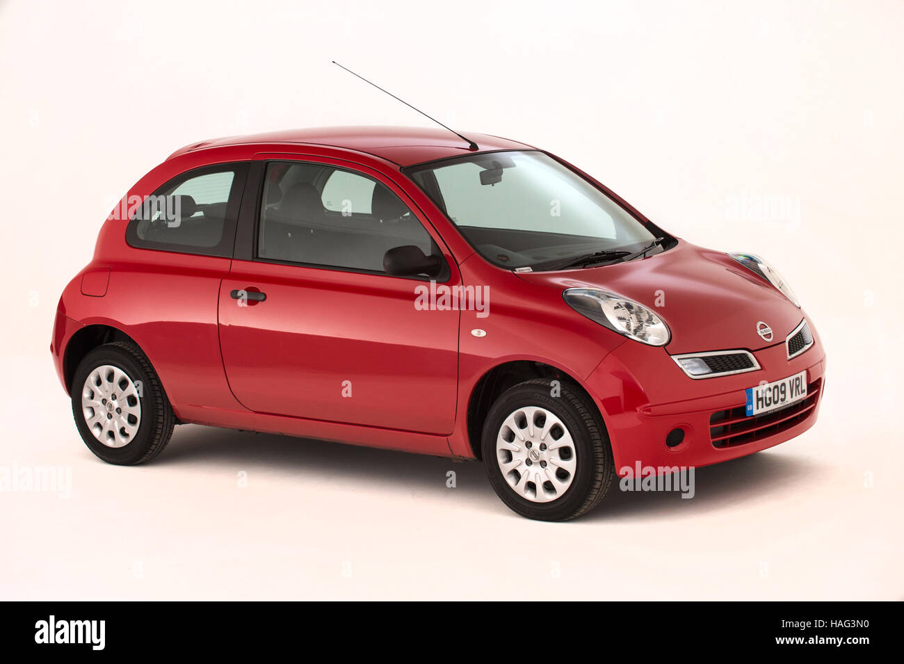 2009 Nissan Micra - Stock Image