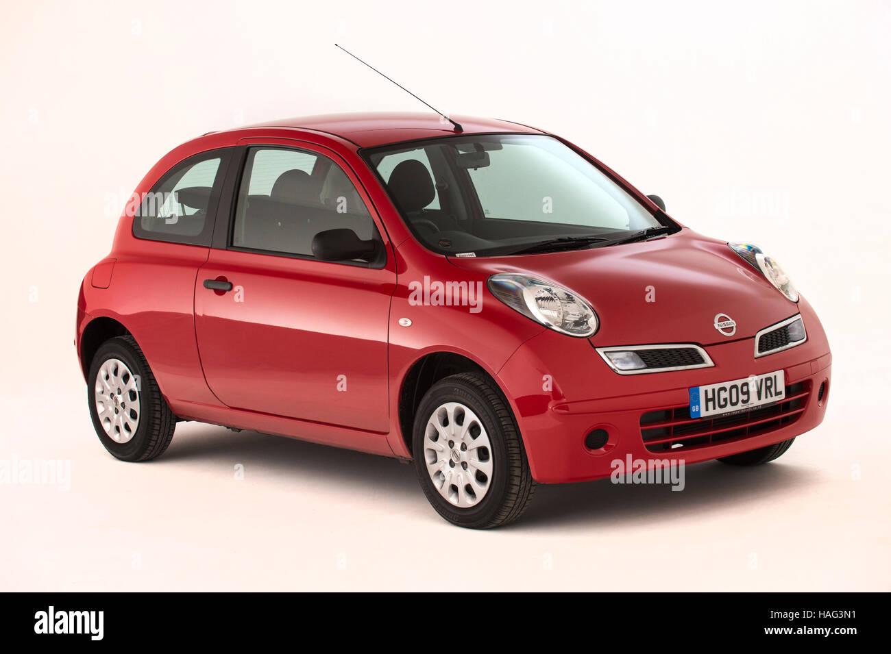 2009 Nissan Micra Stock Photo