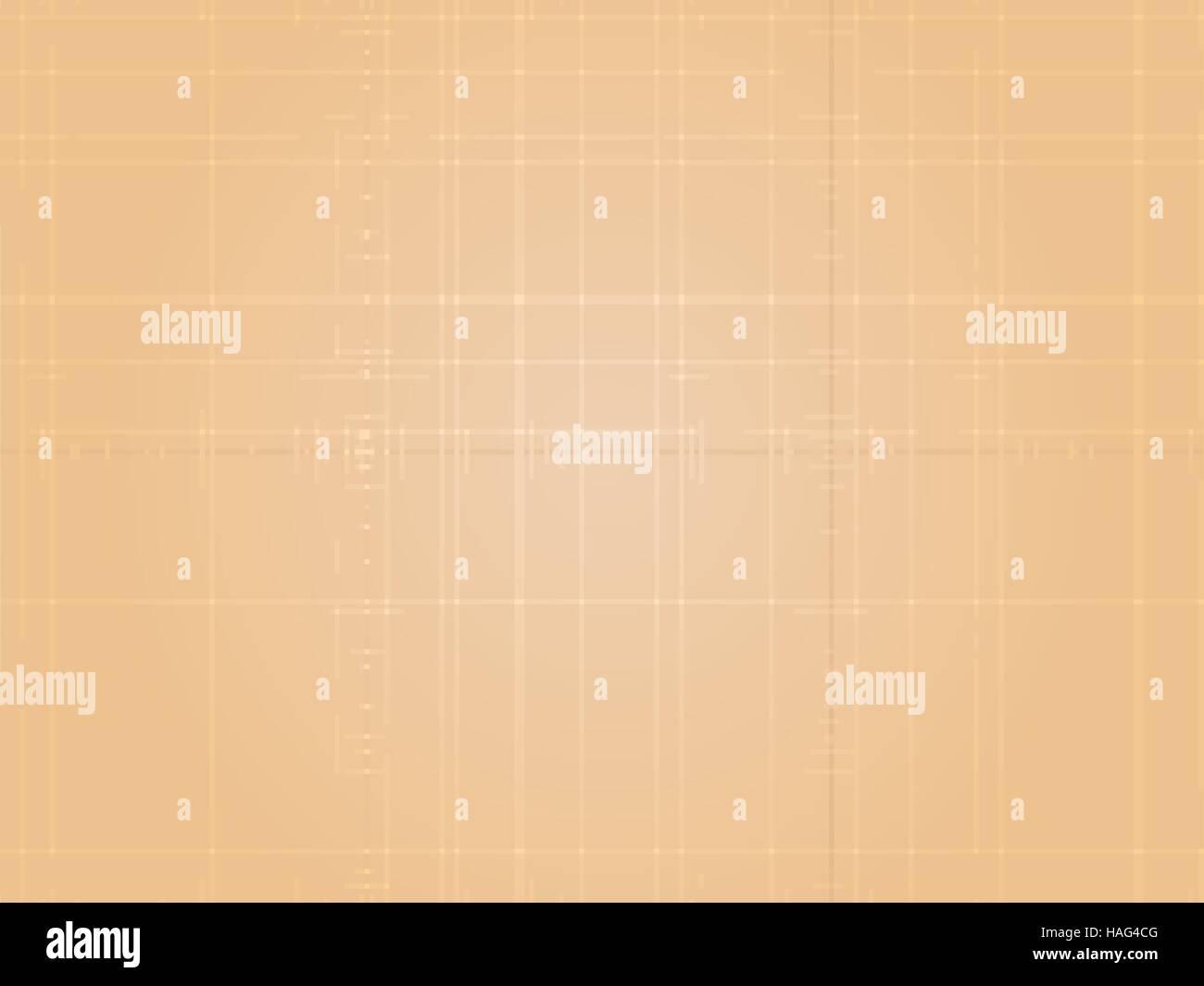 Empty horizontal beige texture background - Stock Vector