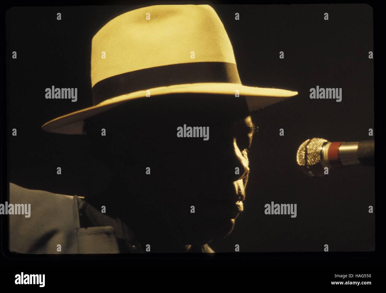 John Lee Hooker -    -  John Lee Hooker   -  Philippe Gras / Le Pictorium - Stock Image