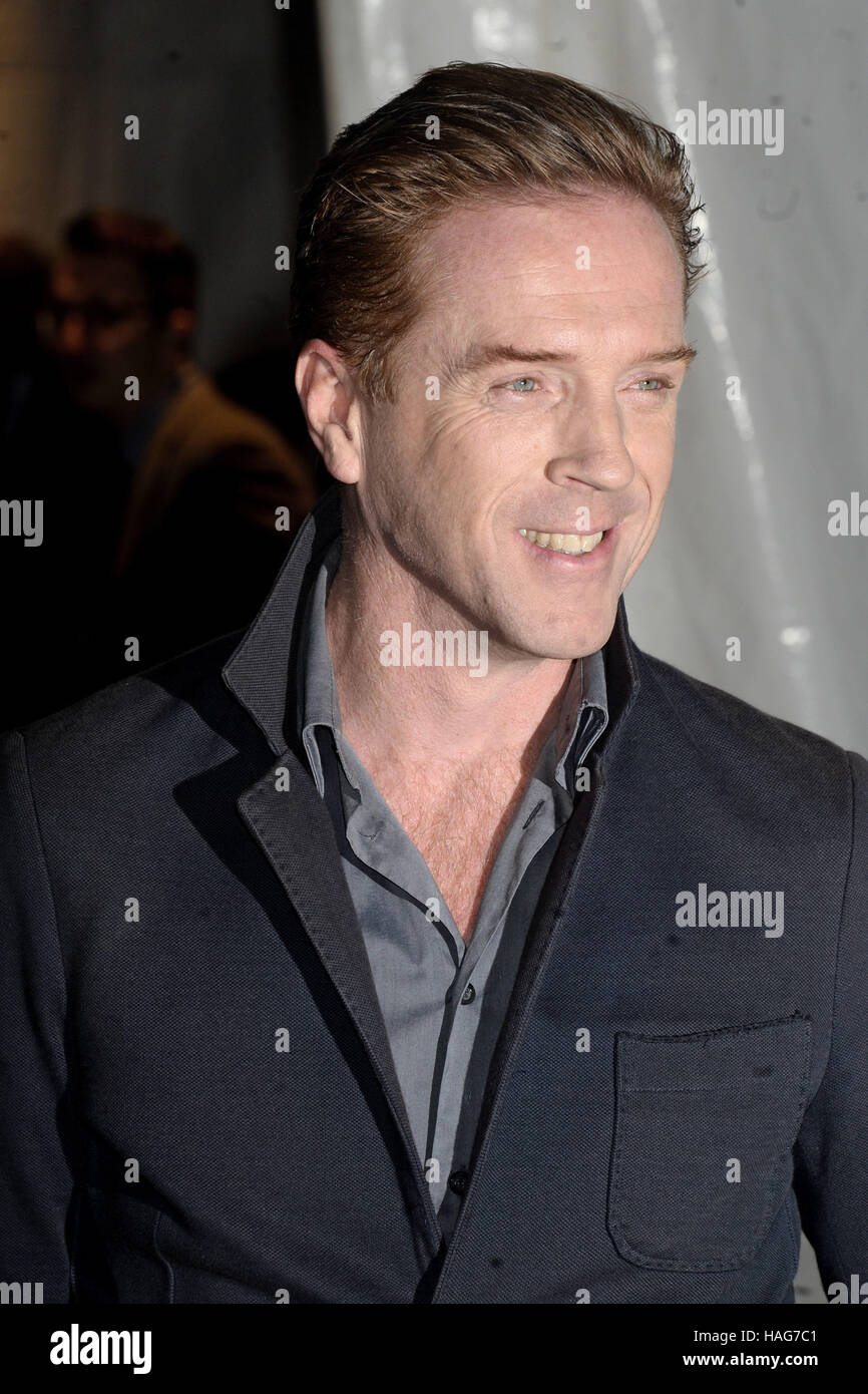 New York City. 28th Nov, 2016. Damian Lewis attends the 26th Annual Gotham Independent Film Awards at Cipriani Wall - Stock Image