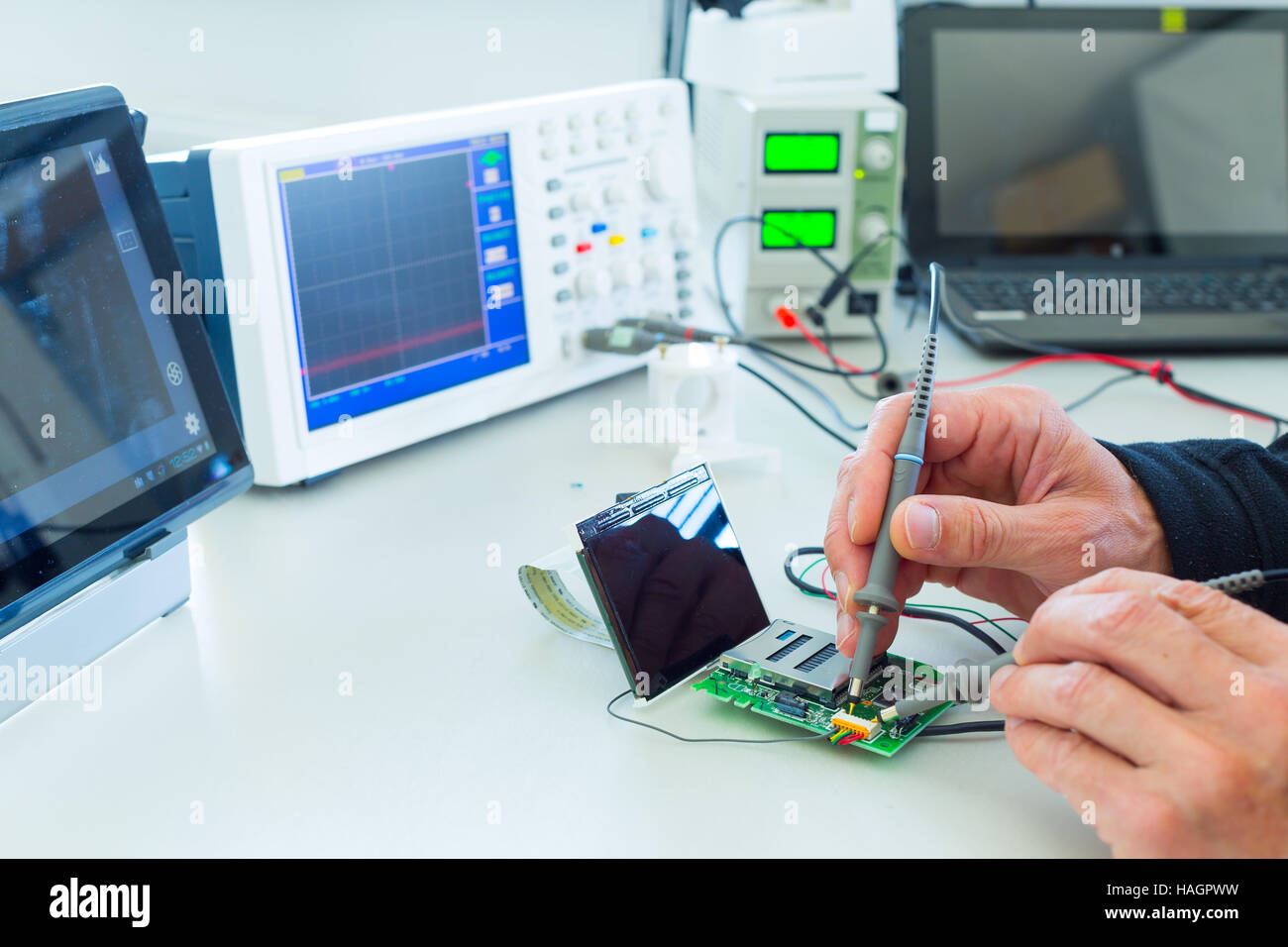 Calibration Lab Stock Photos Images Alamy Toggle On Off Switch Electronicslab Measuring Devices In The Electronics Image