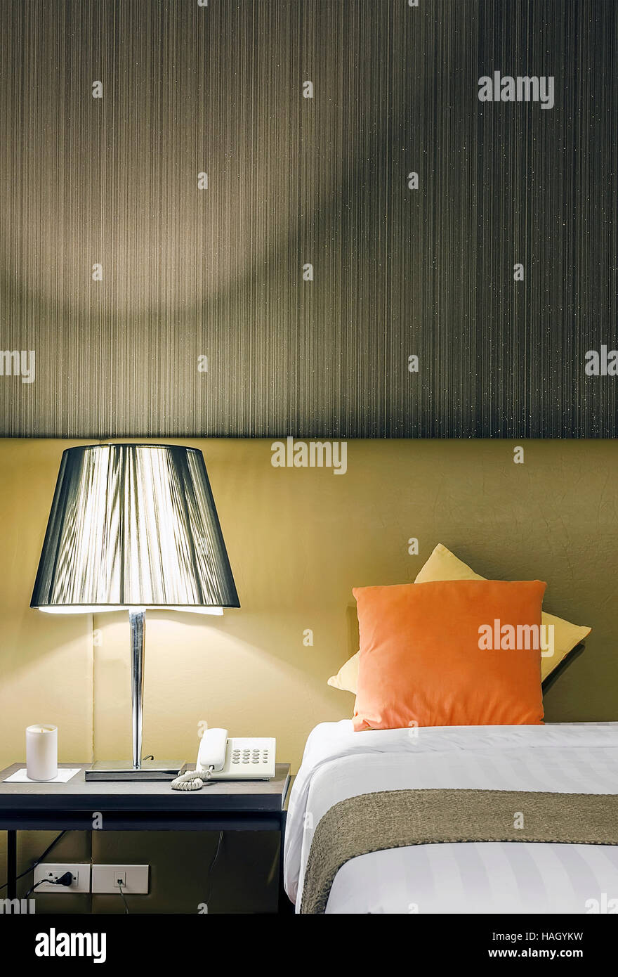 Interior Design Detail Of 3 Star Hotel Room Stock Photo Alamy