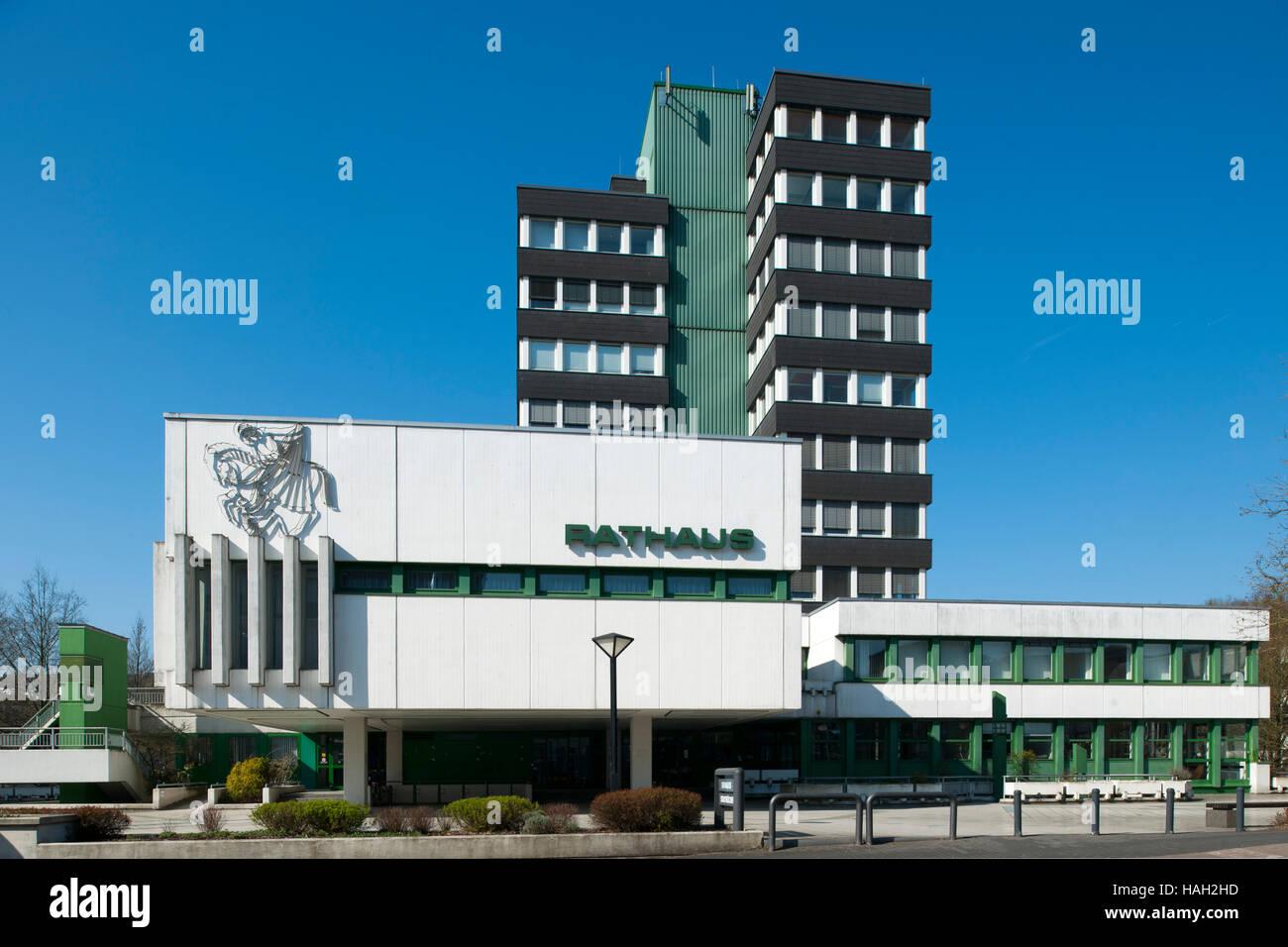 Deutschland, Nordrhein-Westfalen, Olpe, Rathaus - Stock Image