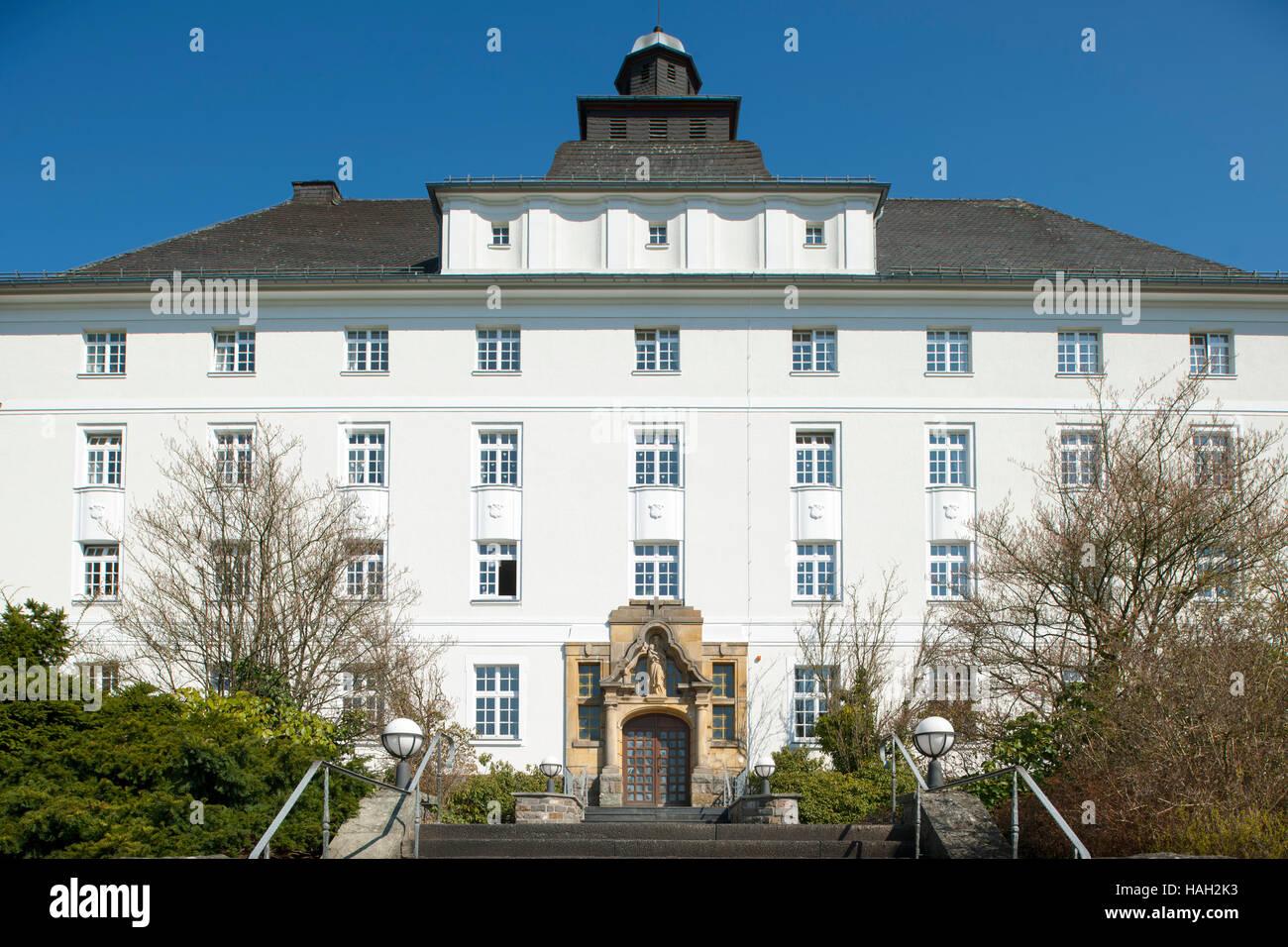 Deutschland, Nordrhein-Westfalen, Olpe, Pallotti-Haus Stock Photo