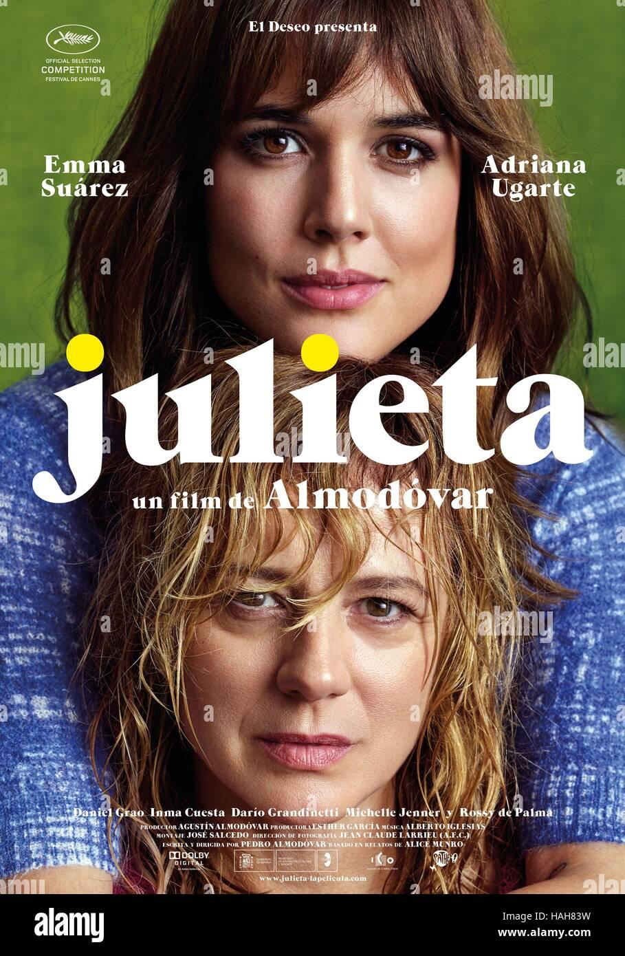 poster pelicula julieta