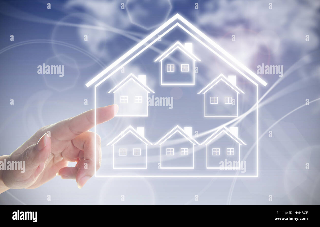 Real estate concept - Stock Image