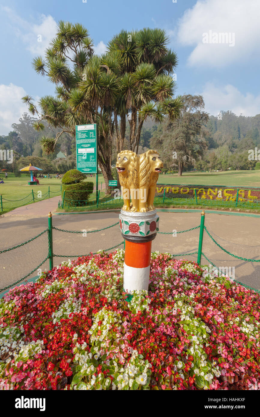 Government Botanical Gardens, Ooty, In Udhagamandalam, Near  Coimbatore(Ooty), Tamil