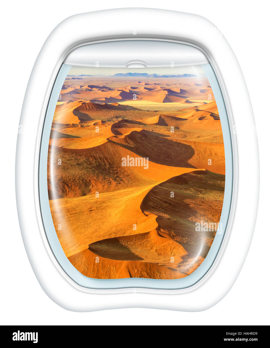 Scenic flight in Dead Valley - Stock Image
