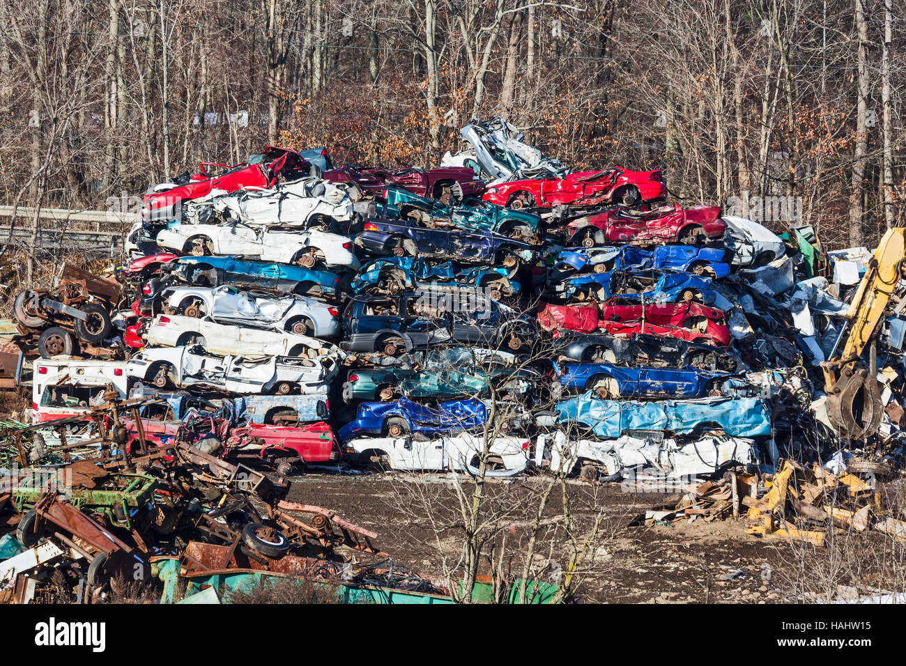 Stoystown Auto Wreckers >> Stoystown Pennsylvania Junked Cars At An Auto Salvage