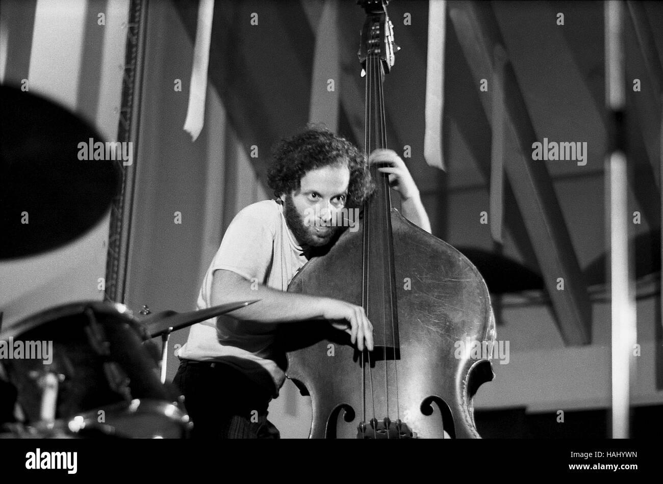 Steve Tintweiss -  10/07/1970  -  France / Alps Maritimes  -  Concert Albert Ayler, Foundation Maeght, 1970   - - Stock Image