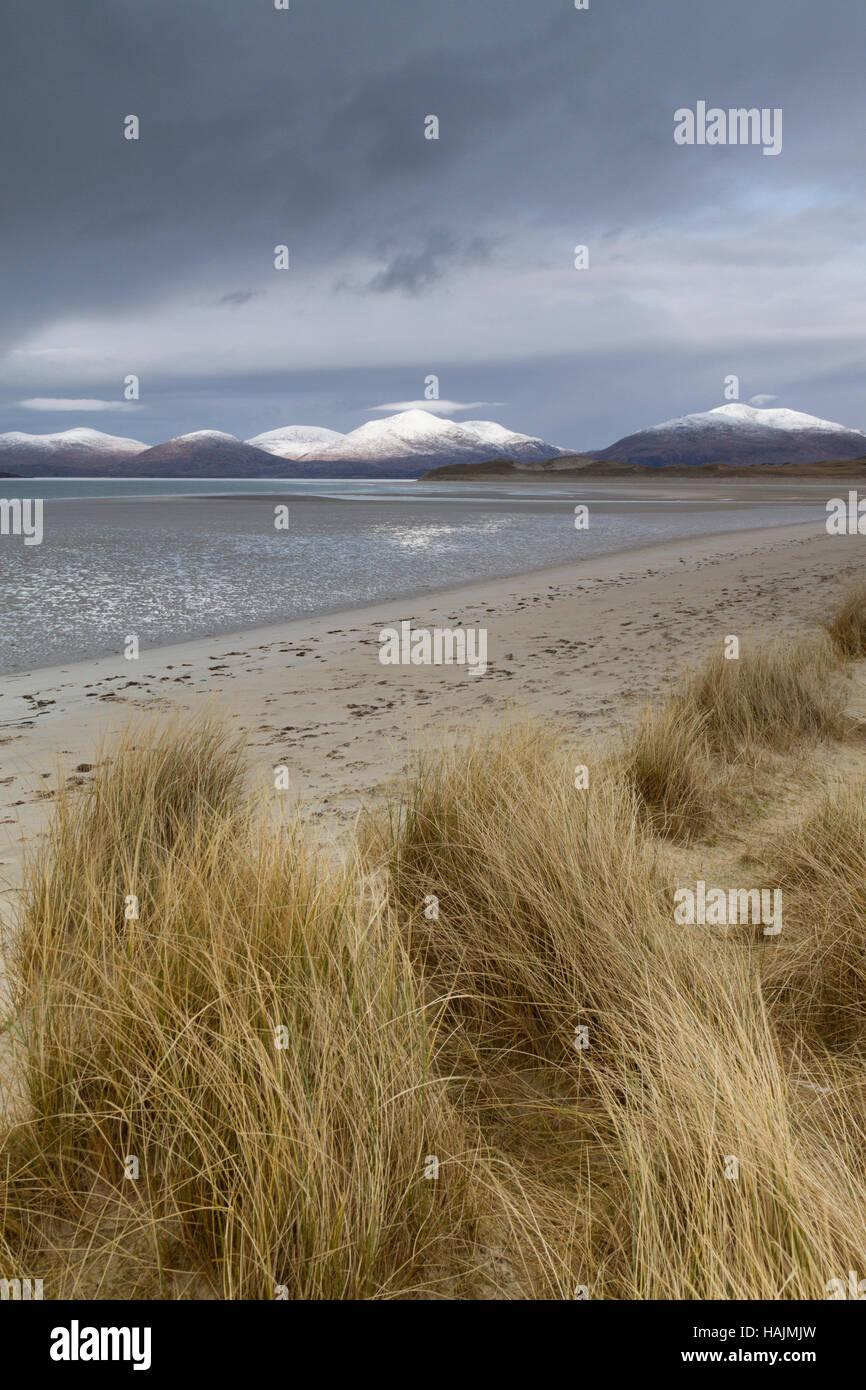 Seilbost beach, Isle of Harris - Stock Image