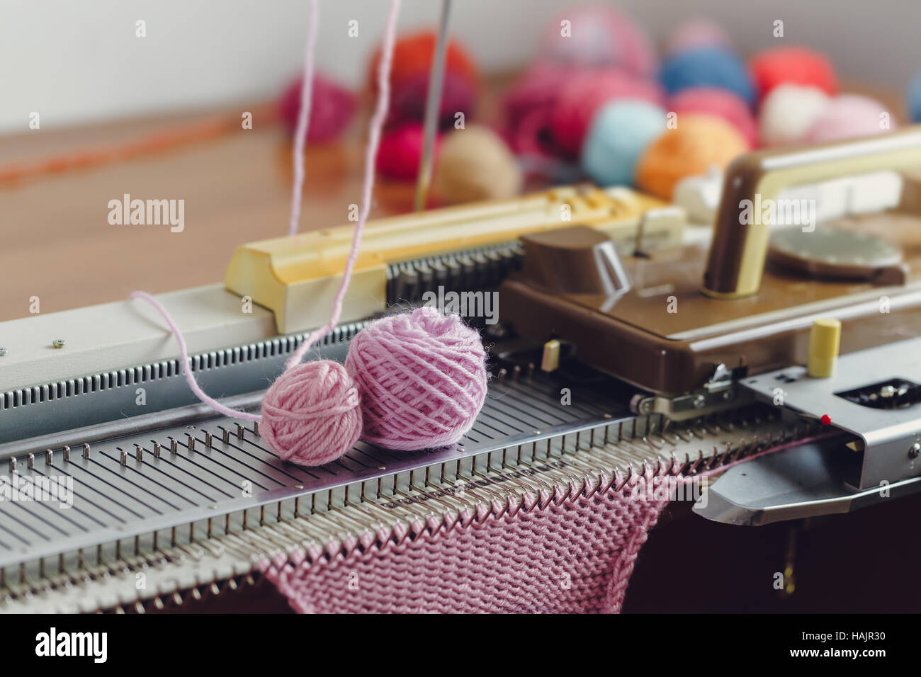 Hand Knitting Machine. A knitting machine is a device used to create ...