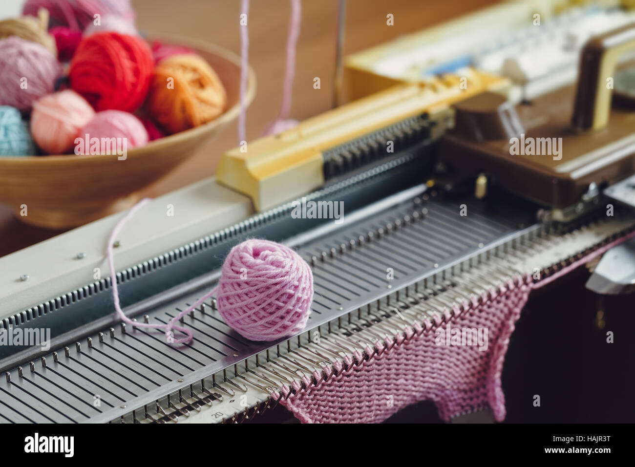Knitting Machine Stock Photos Knitting Machine Stock Images Alamy