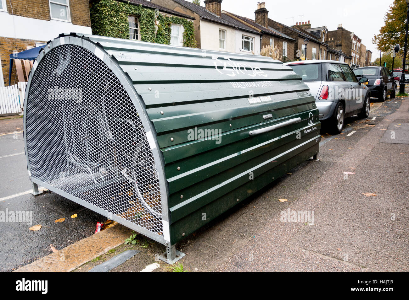 A Bike Hangar, On Street Secure Storage Rental Scheme For ...