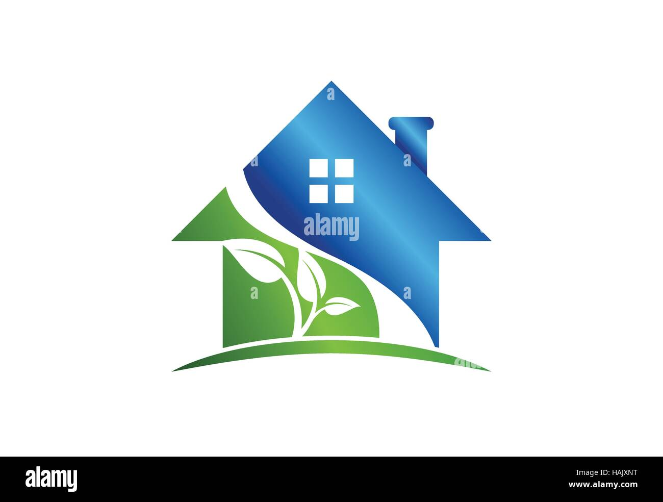 House Logo Real Estate Building Symbol Icon Architecture Nature
