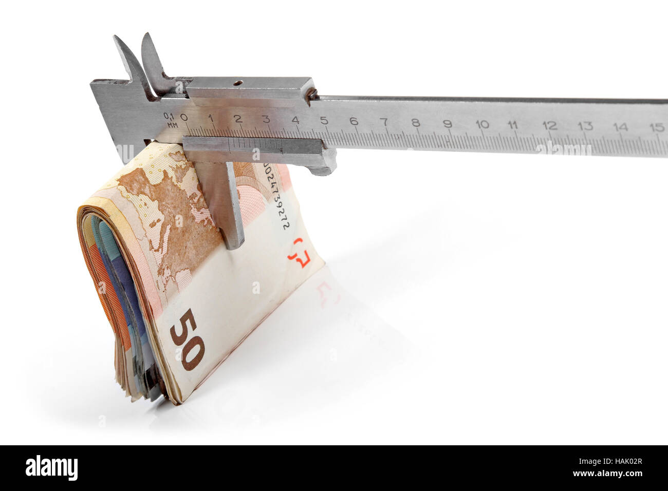 concept of budget consolidation - Stock Image