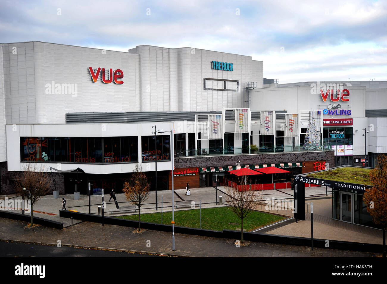 The Rock, shopping and entertainment venue, Bury, Lancashire. Picture by Paul Heyes, Thursday December 01, 2016. - Stock Image