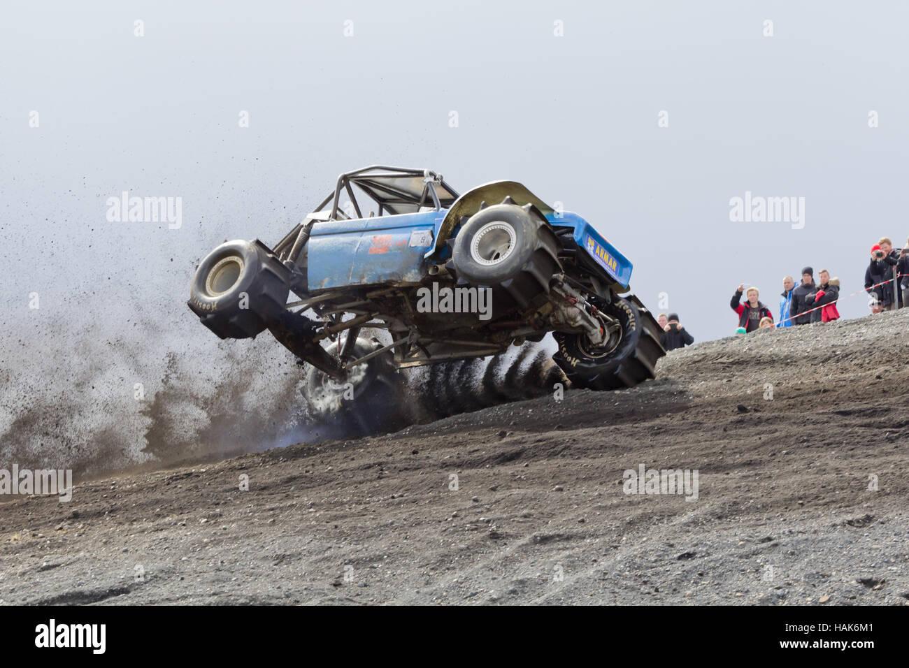 Formula off road racing in Hella 2014 - Stock Image