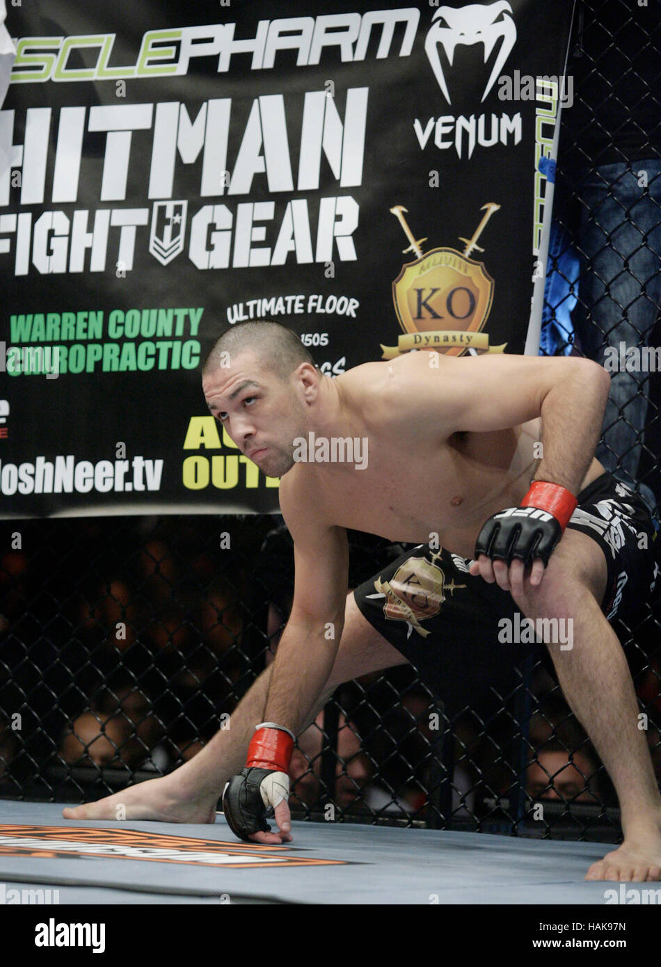 Josh Neer at UFC 104 at the Staples Center in Los Angeles, California, on October 24, 2009. Francis Specker - Stock Image