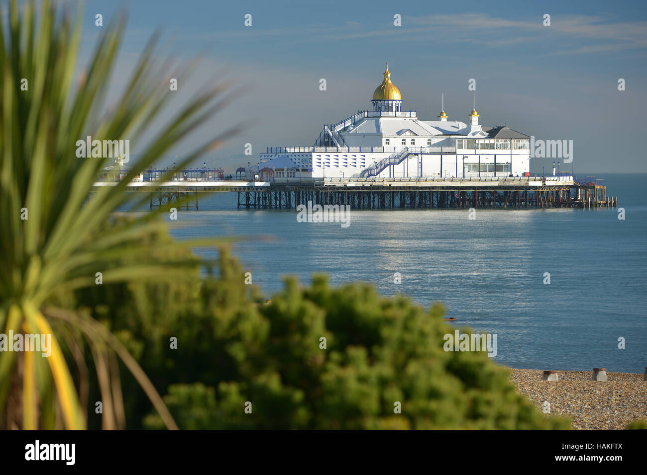 Eastbourne pier, East Sussex - Stock Image