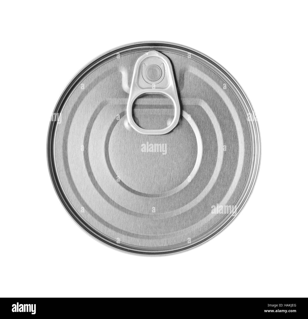 conserve tin can - Stock Image