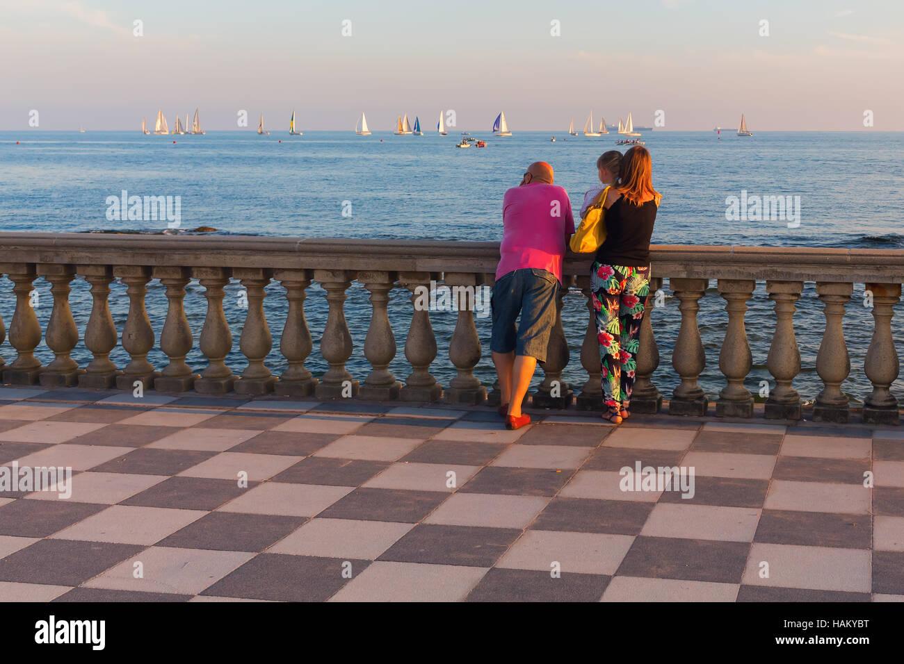 Terrazza Mascagni in Livorno, Italy Stock Photo: 127057724 - Alamy