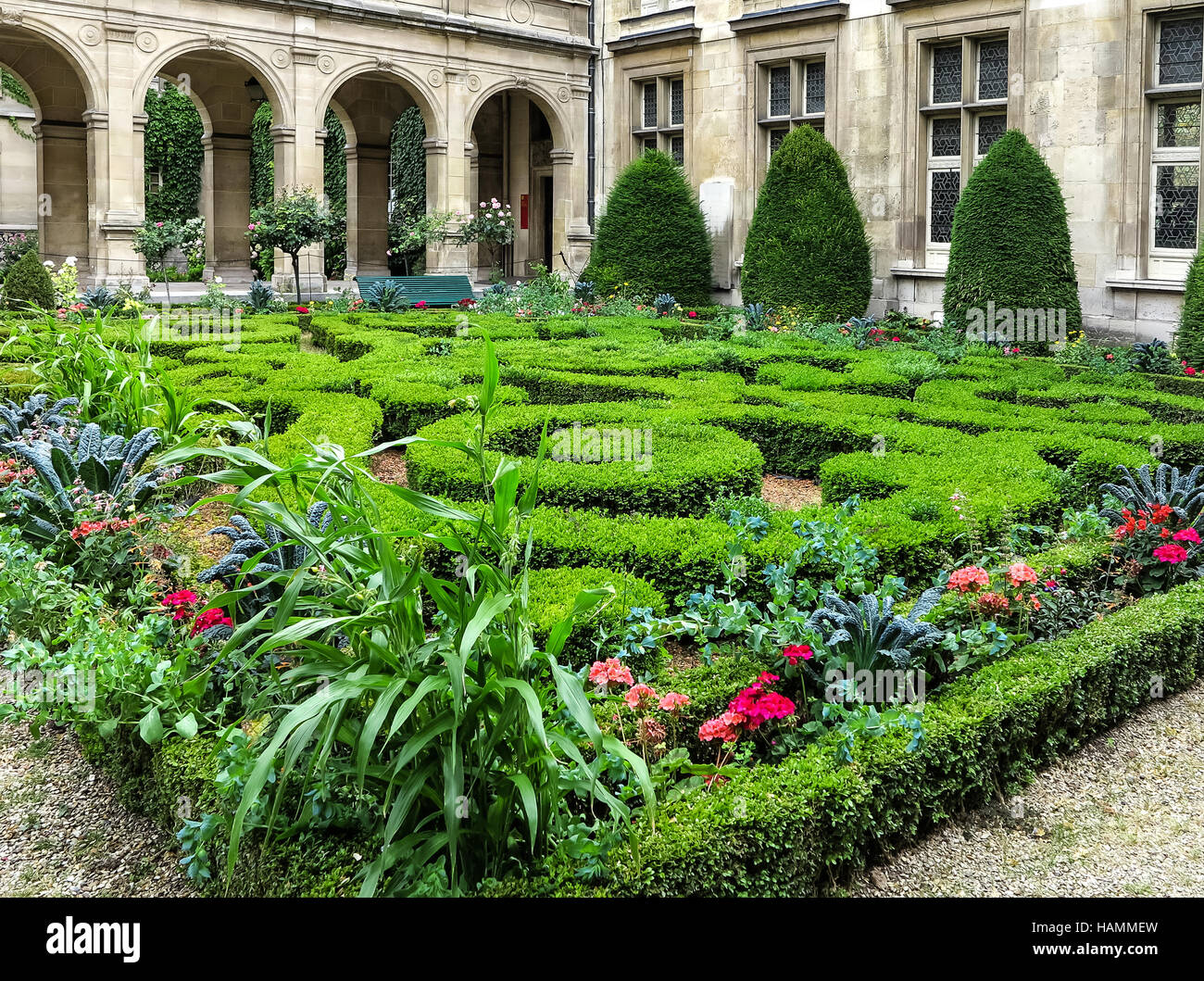Paris- The Musée Carnavalet, France - Stock Image