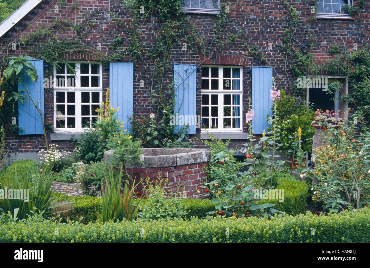 Gardenimpression Stock Photo