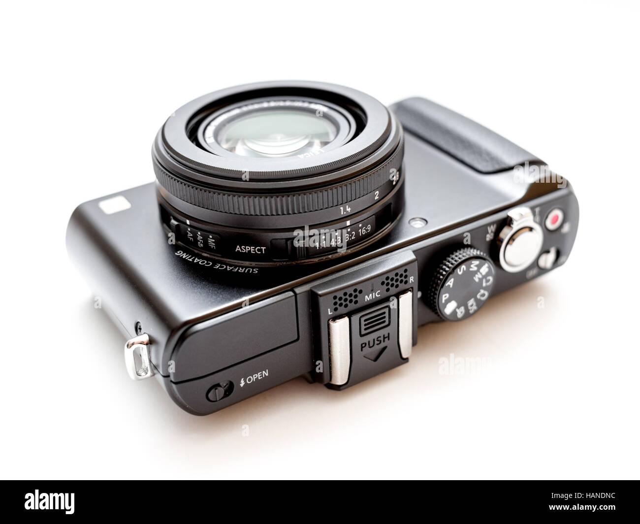 Rome, Italy - June 14, 2016: compact digital camera - Stock Image