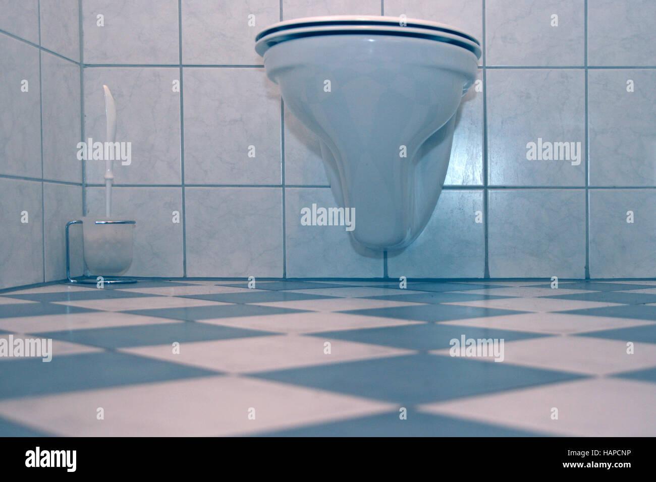 toilette - Stock Image