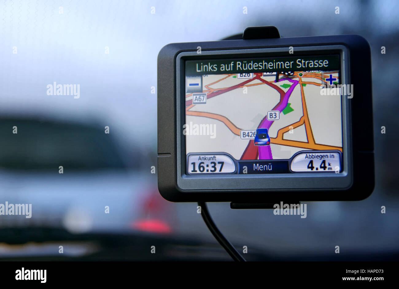 Automotive navigation system - Stock Image