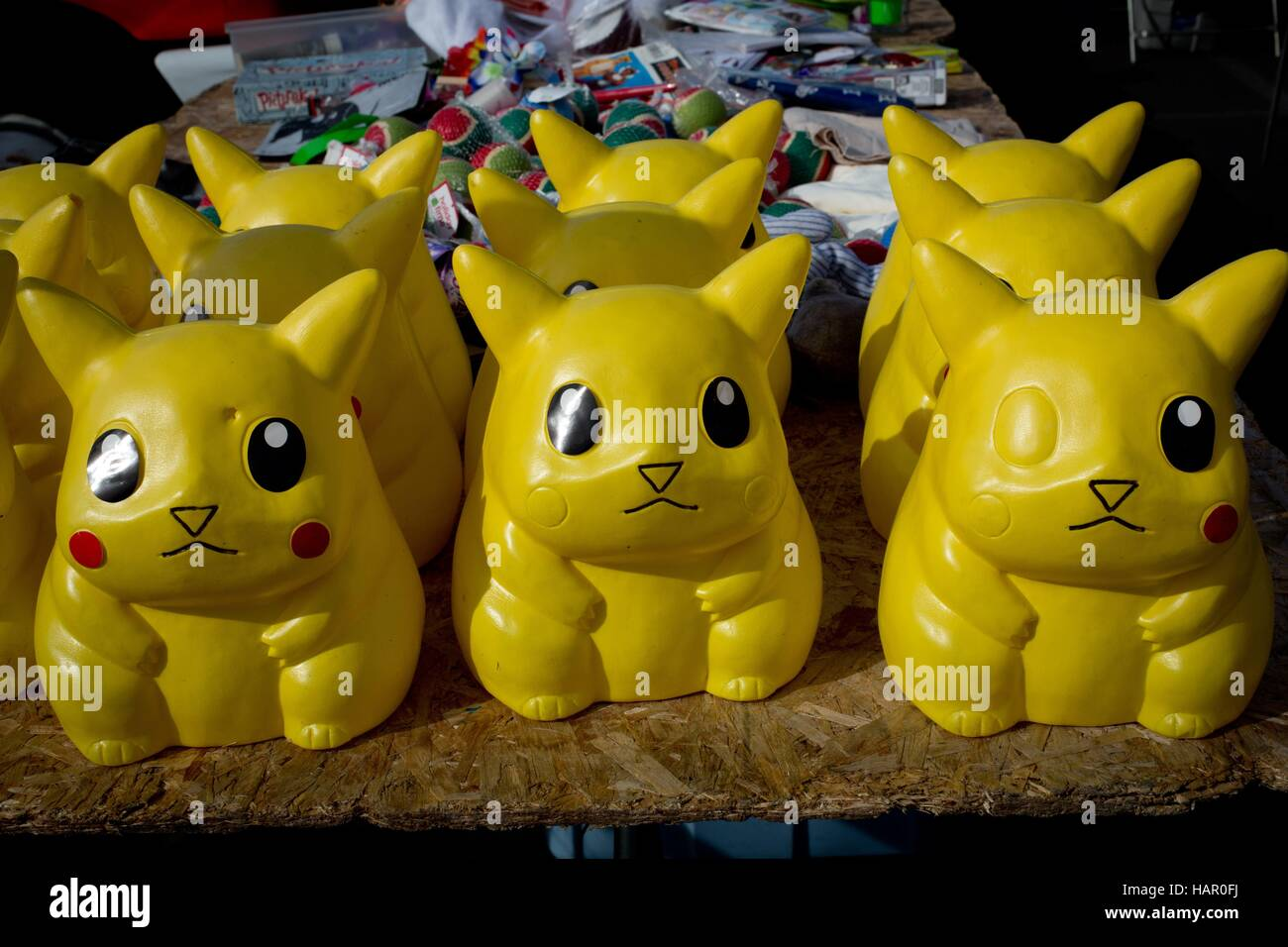 Pokemon toys at Kobey's Swap Meet at the Sports Arena, in