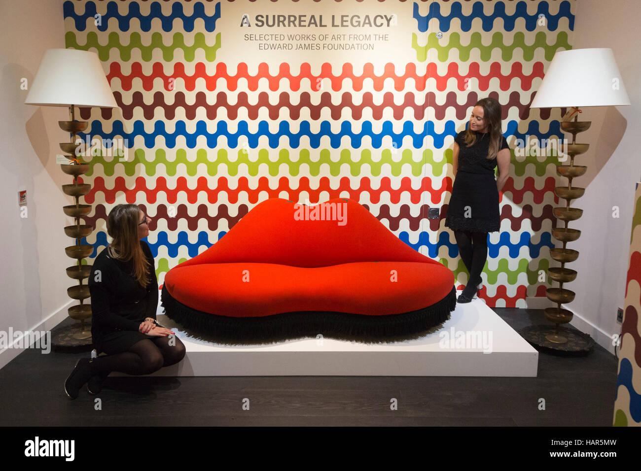 A Surreal Legacy: Mae West Lips Sofa By Salvador Dali And Edward James,  Est. GBP 250,000 400,000. This December, As Part Of Classic Week, Auction  House ...