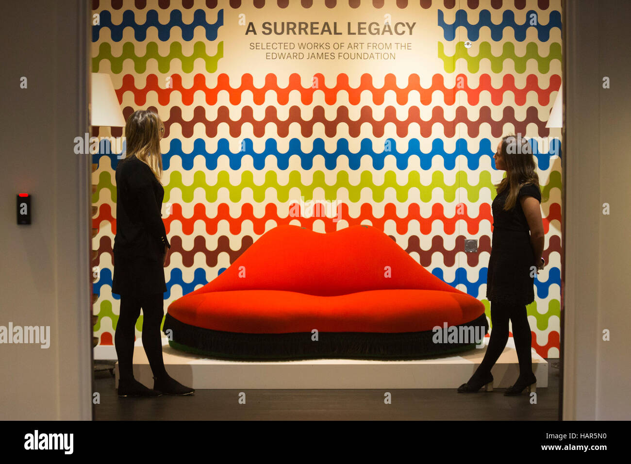 A Surreal Legacy: Mae West Lips Sofa by Salvador Dali and