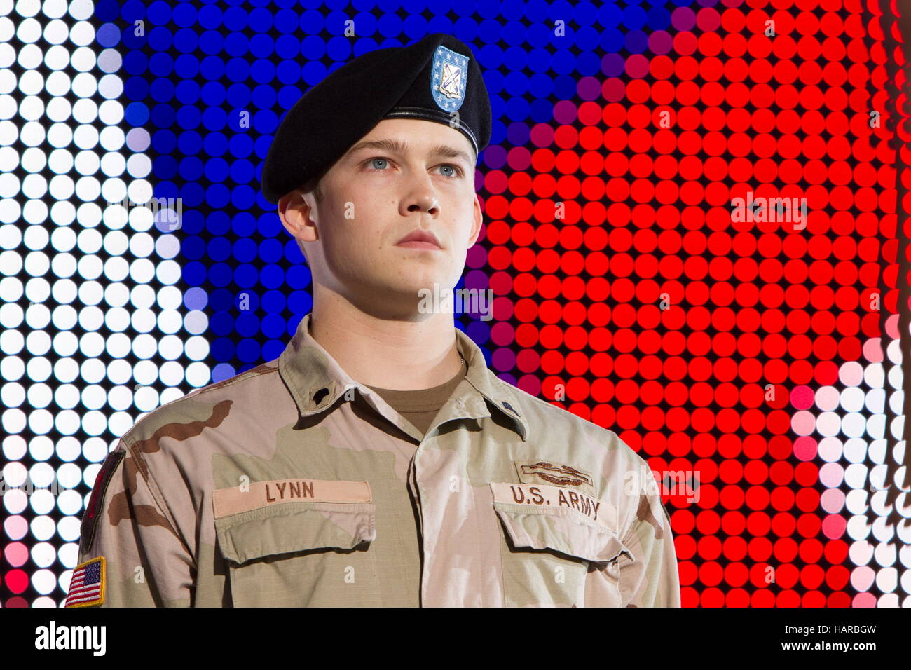 RELEASE DATE: November 18, 2016 TITLE: Billy Lynn's Long Halftime Walk STUDIO: Sony Pictures Entertainment DIRECTOR: - Stock Image