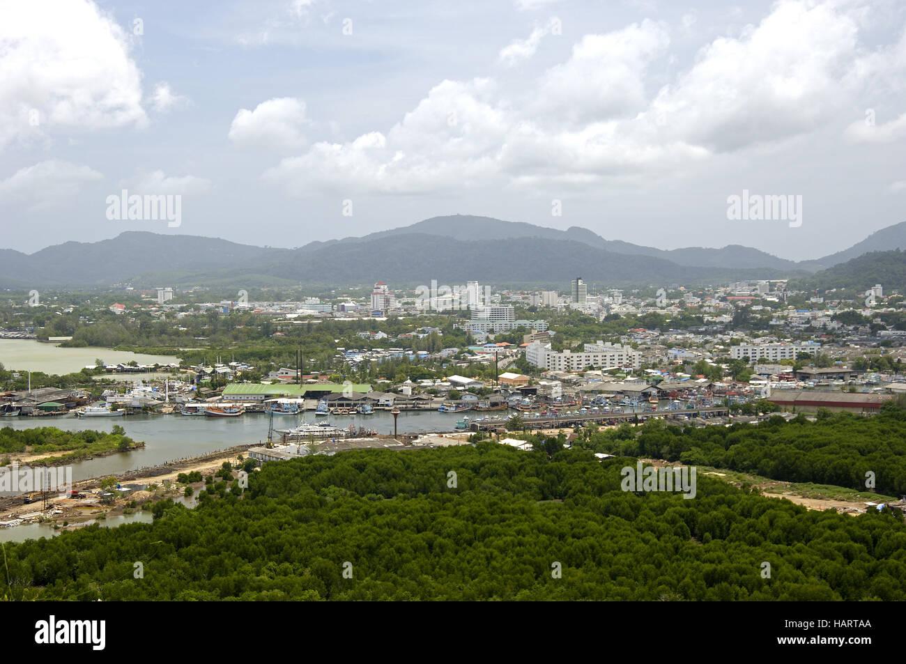 Phuket Town - Stock Image
