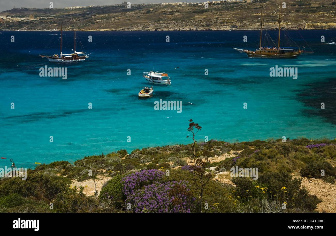 Blue Lagoon - Stock Image