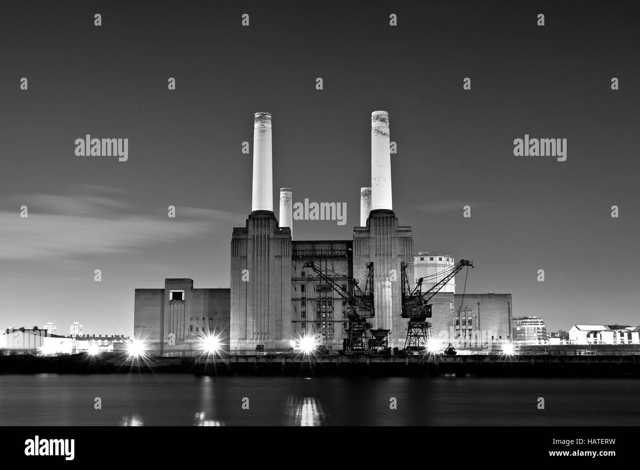 Battersea Power Station - Stock Image
