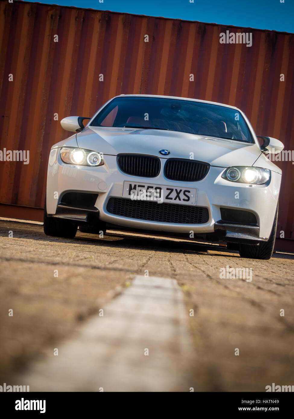 BMW E92 M3 3 Series   Stock Image