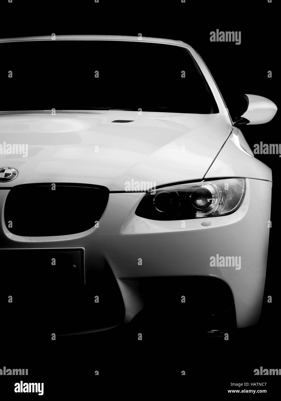 BMW E92 M3 3-Series - Stock Image