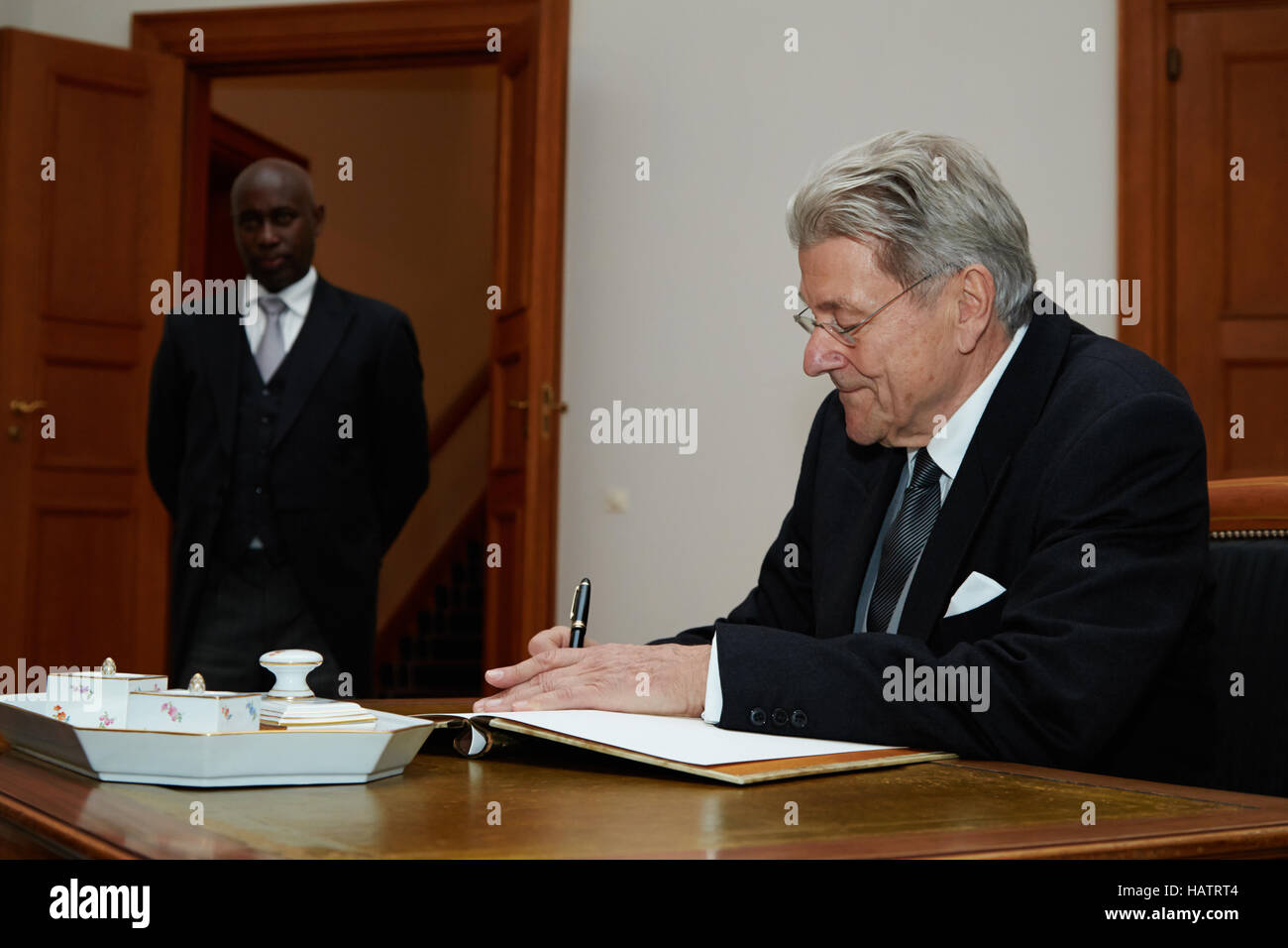 New Ambassador of the republic Burundi - Stock Image