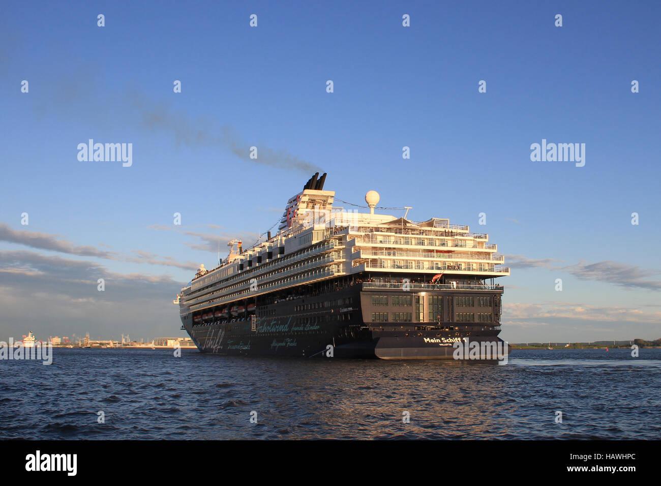 Cruise ship 'Mein Schiff 1' - Stock Image