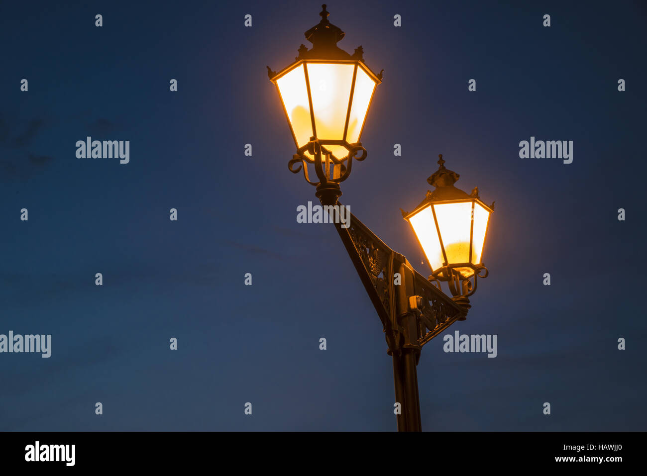 Latern, Wismar - Stock Image