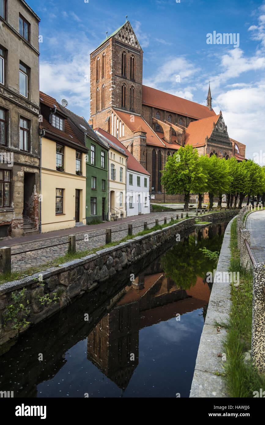 St.Nikolai, Wismar - Stock Image