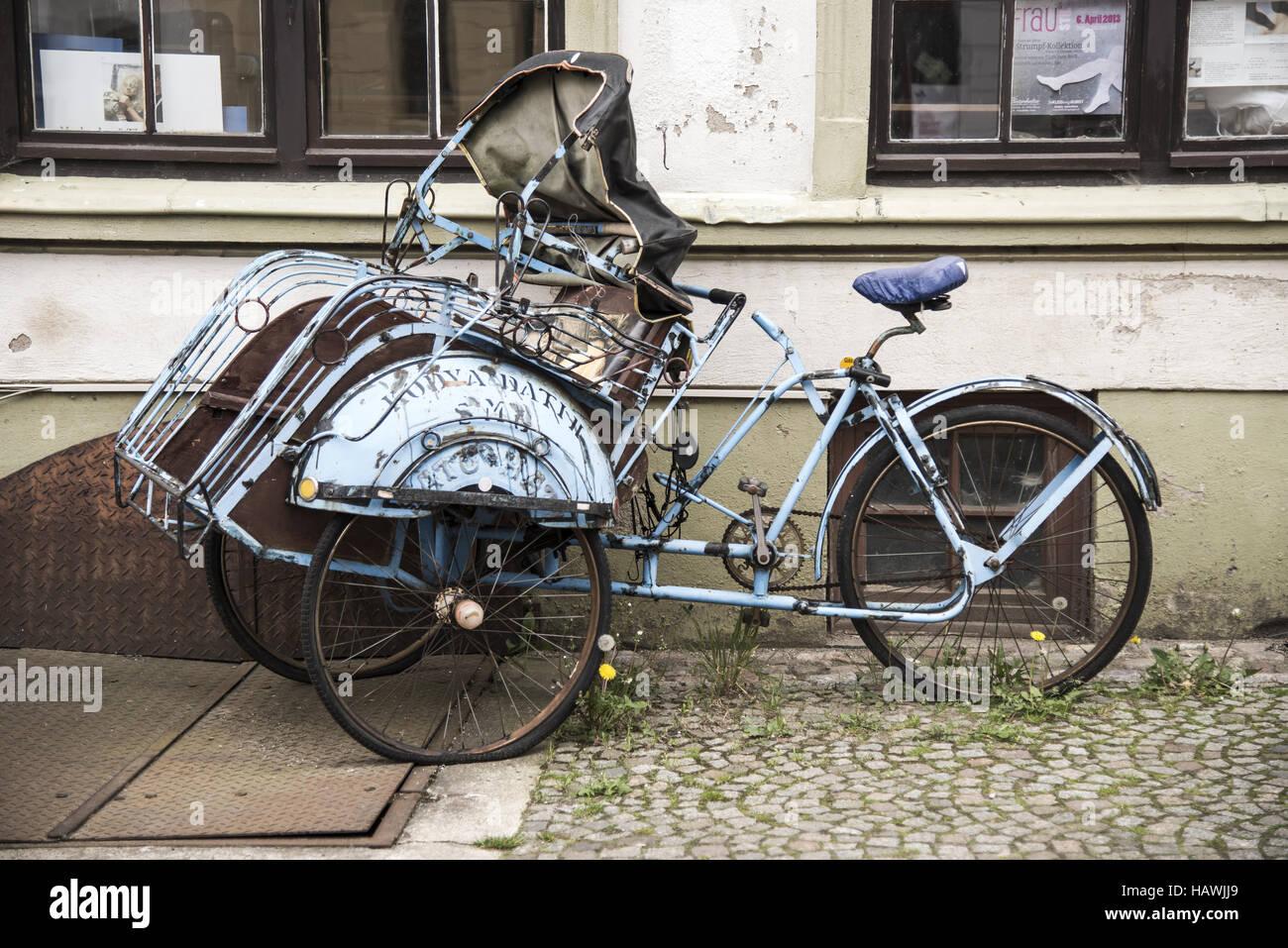 Old Bike - Stock Image