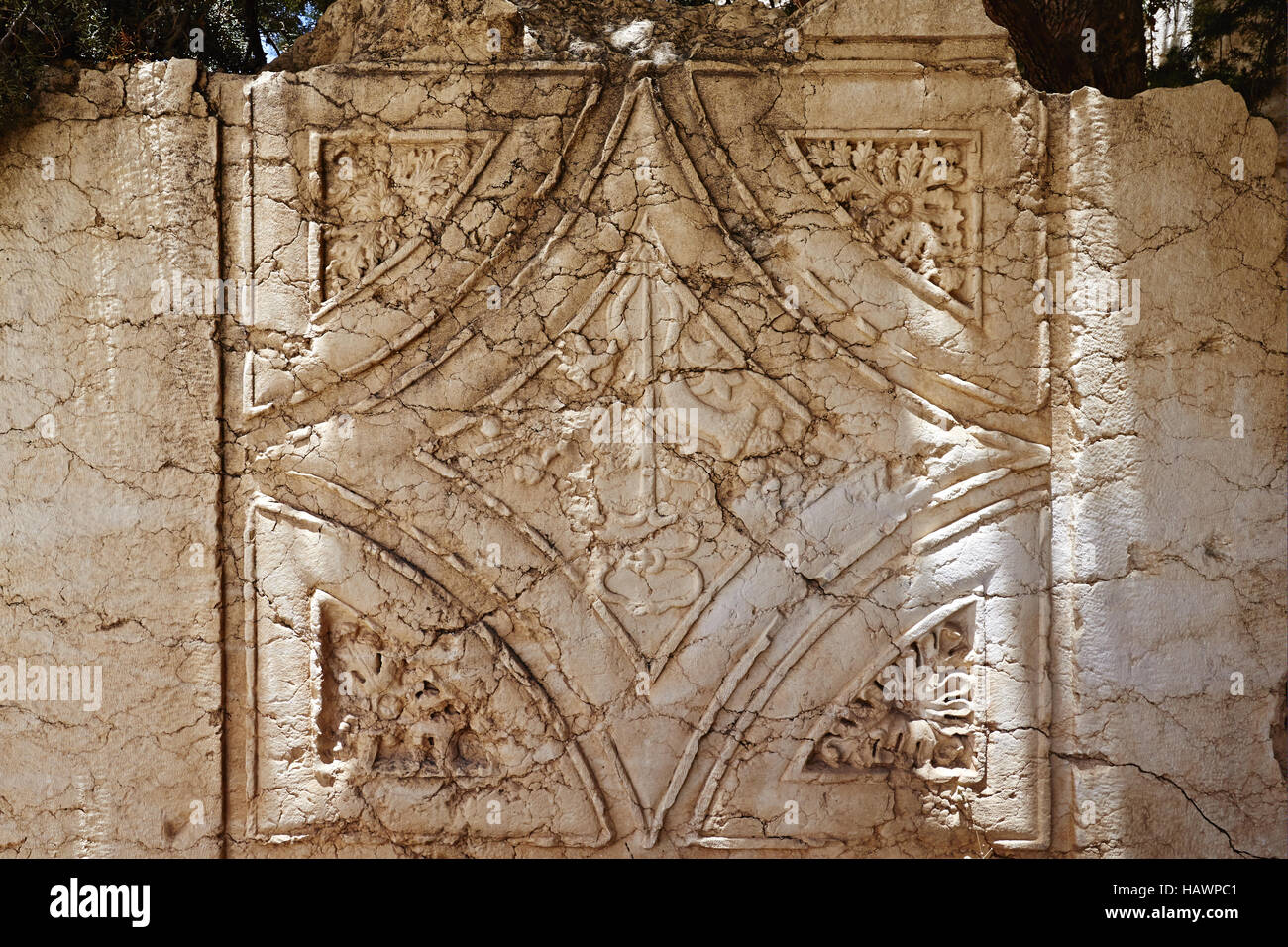 Museum at Baalbek temples - Baalbek, Lebanon - Stock Image