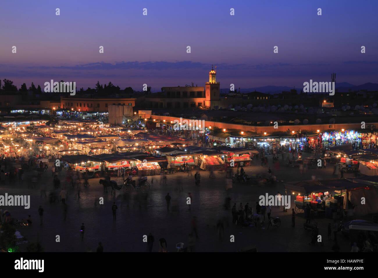 Jamaa el Fna Stock Photo