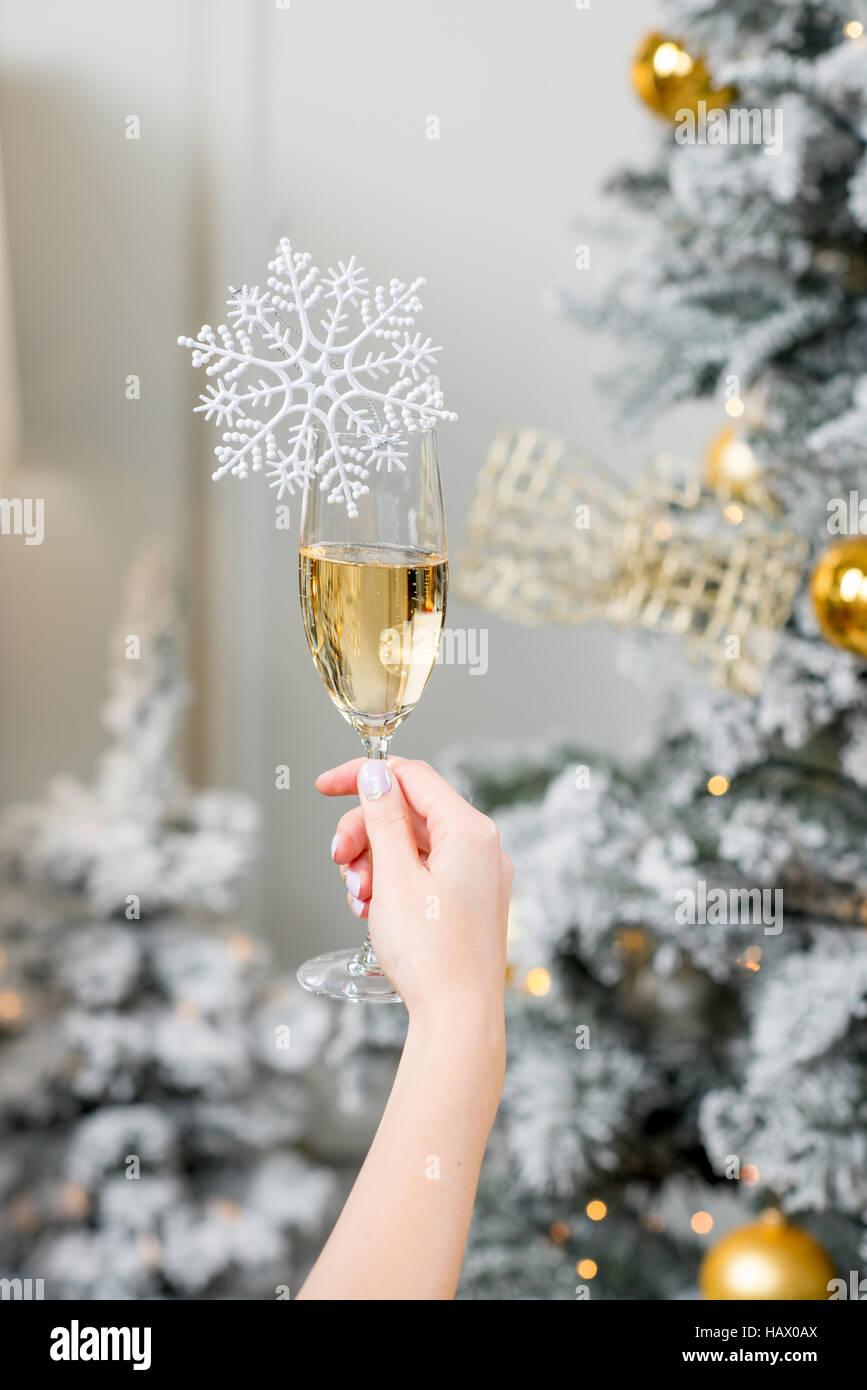 Celebrating a New Year - Stock Image