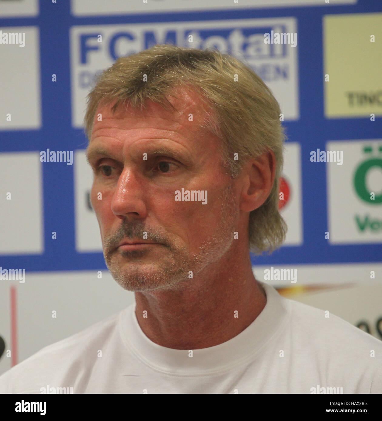 Rudi Bommer (FC Energie Cottbus) - Stock Image